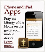 Divine Office iPhone/iPad App Available on the iTunes App Store